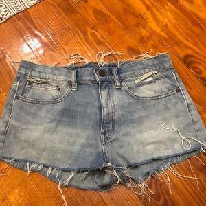 URBAN OUTFITTERS cut off jeans never worn